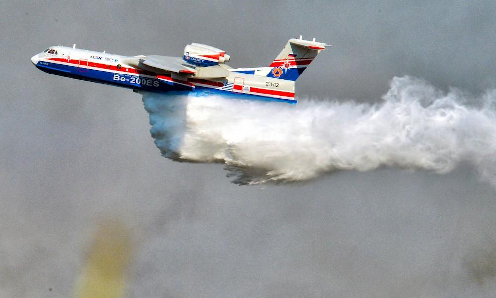 Φωτιά: Νέα εναέρια μέσα πυρόσβεσης στέλνει η Ρωσία στην Ελλάδα