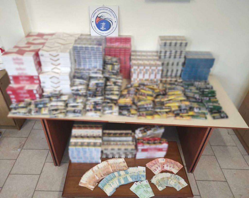 Συνελήφθησαν δύο διακινητές λαθραίων καπνικών προϊόντων στην Πτολεμαΐδα