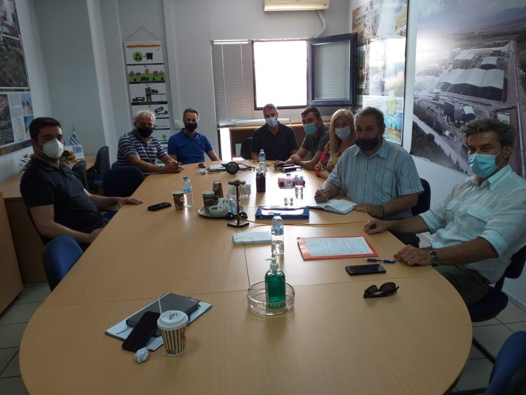 «Συνάντηση Κλιμακίου ΤΕΕ/ΤΔΜ με Υπηρεσιακά Στελέχη της ΔΙΑΔΥΜΑ ΑΕ»