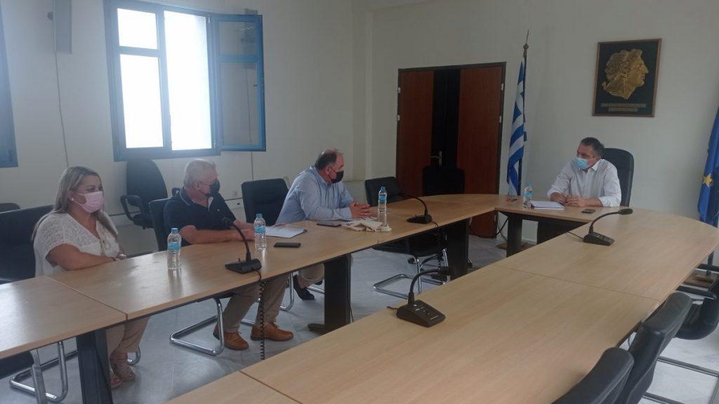 Συνάντηση Περιφερειάρχη Δυτικής Μακεδονίας με το Διοικητή του Μποδοσάκειου Γενικού Νοσοκομείου Πτολεμαΐδας.