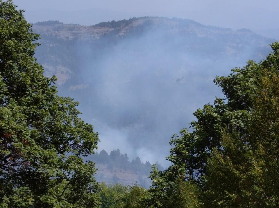 Ενημέρωση για τις Πυρκαγιές στην ΠΕ Κοζάνης