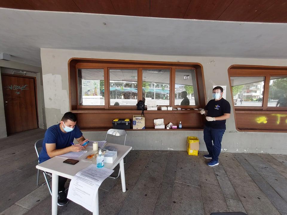 Δήμος Κοζάνης: Τι έδειξαν τα rapid tests στην κεντρική πλατεία