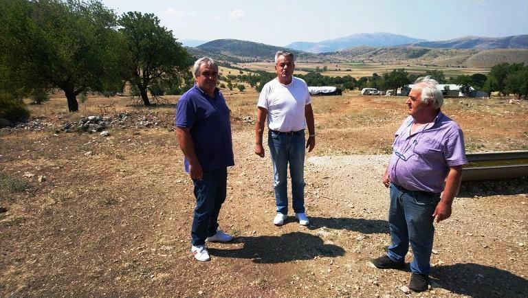 Σιδερά – Κτενά επισκέφτηκε ο Αντιπεριφερειάρχης Π.Ε. Κοζάνης