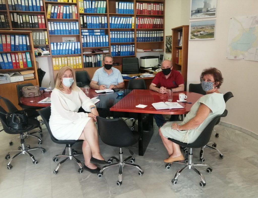 «Επίσκεψη της Διοίκησης του ΤΕΕ/ΤΔΜ στη Δημοτική Επιχείρηση Τηλεθέρμανσης Πτολεμαΐδας (ΔΕ.ΤΗ.Π.)»