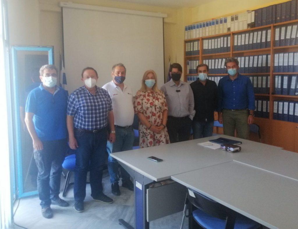 «Ενημέρωση του Προεδρείου του ΤΕΕ/ΤΔΜ από στελέχη της Ειδικής Υπηρεσίας Διαχείρισης Επιχειρησιακού Προγράμματος Δυτικής Μακεδονίας για την πορεία υλοποίησης των έργων της Δυτικής Μακεδονίας»