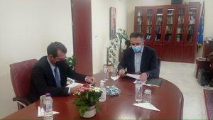 Ευρεία Σύσκεψη για την πορεία της Πανδημίας και την αντιμετώπισή της στην Περιφέρεια Δυτικής Μακεδονίας, παρουσία του Υπουργού Υγείας Θάνου Πλεύρη.