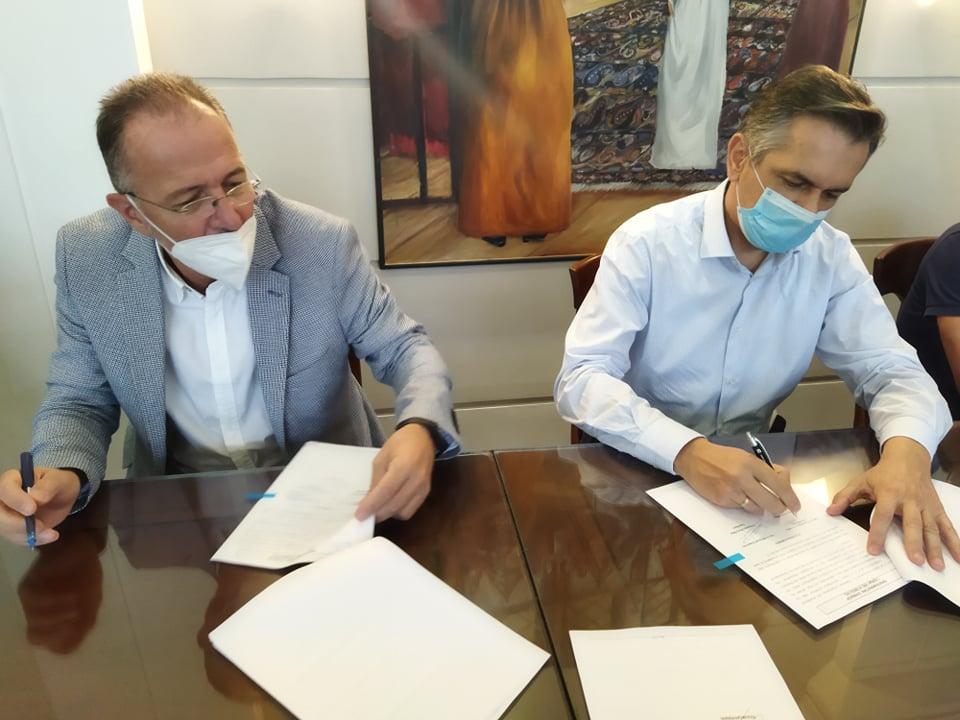 Υπογραφή Προγραμματικής Σύμβασης 121.892€ από τον Περιφερειάρχη Γ. Κασαπίδη για την Αναβάθμιση των Υποδομών του Χιονοδρομικού Κέντρου Βιτσίου.