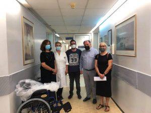 Μποδοσάκειο: Δωρεά τριών (3) αναπηρικών αμαξιδίων στο Νεφρολογικό τμήμα του Νοσοκομείου