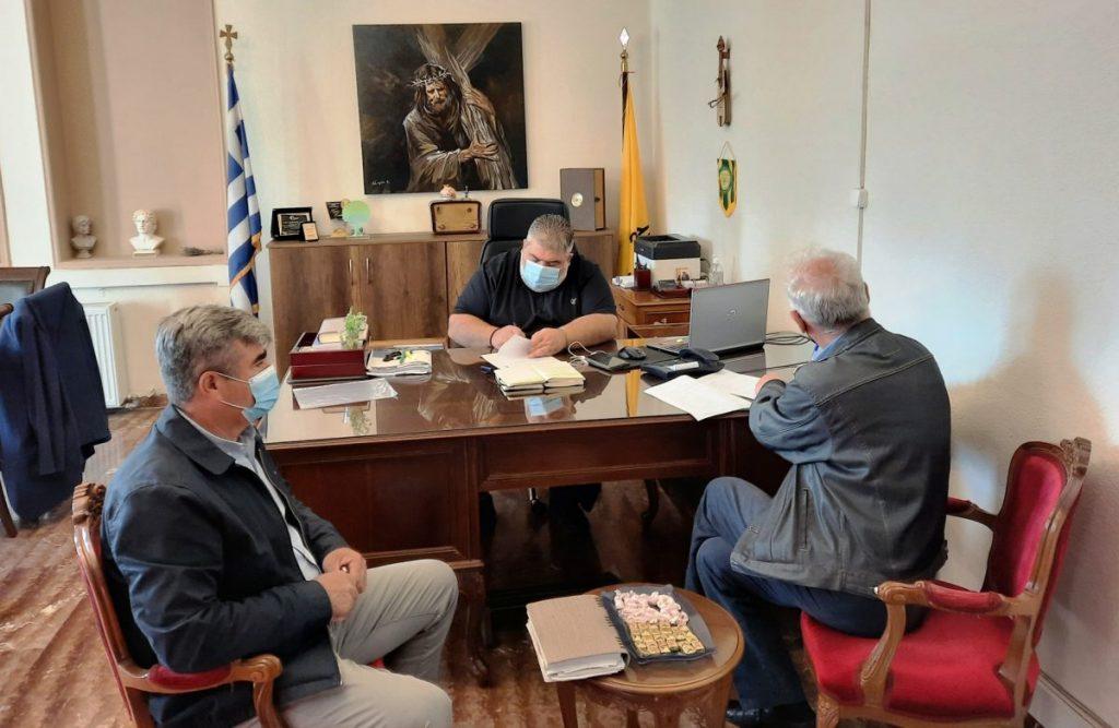 Υπογραφή σύμβασης για το έργο: «Συντήρηση στέγης πολιτιστικού κέντρου Μεσόβουνου του Δήμου Εορδαίας».