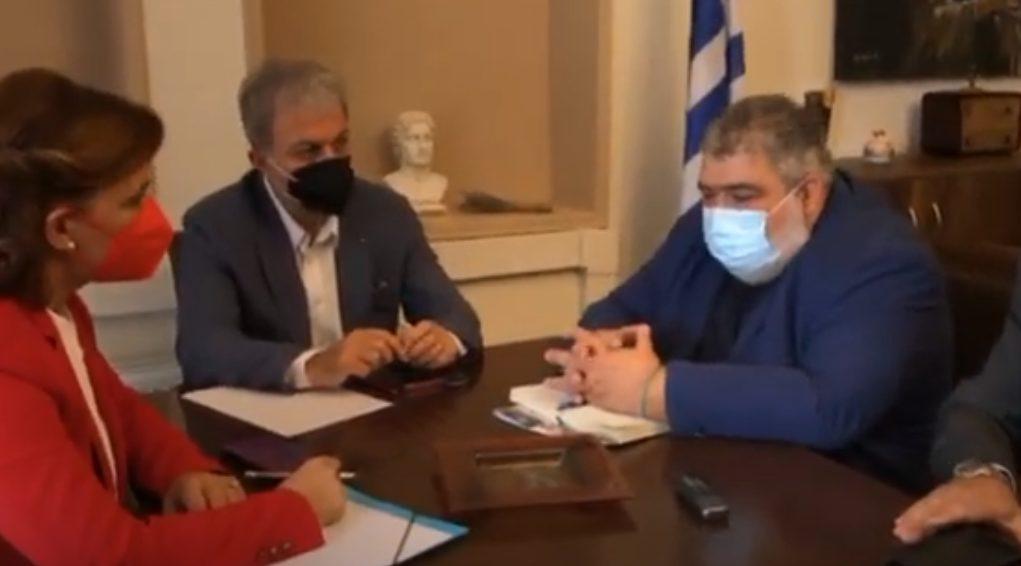 Επίσκεψη στο δήμο Εορδαίας και συνάντηση με το δήμαρχο Παναγιώτη Πλακεντά κυβερνητικού κλιμακίου βουλευτών της Νέας Δημοκρατίας (βίντεο)