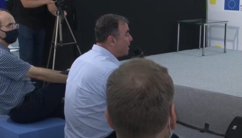Τοποθέτηση προέδρου Κοινότητας Πτολεμαΐδας Ισαάκ Νικολαΐδη κατά την παρουσίαση του ΣΔΑΜ για την Δυτική Μακεδονία στην 85η Διεθνή Έκθεση Θεσσαλονίκης (βίντεο)