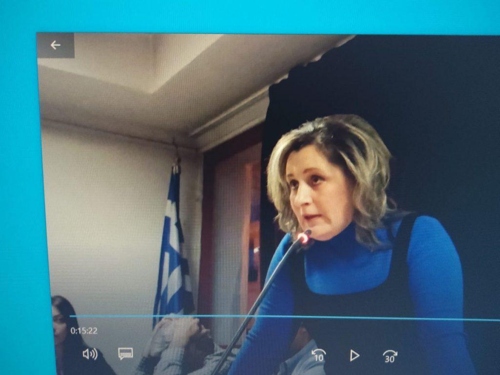 Η Αθηνά Τερζοπούλου για την ιδιωτικοποίηση του 17% της ΔΕΗ ''Η παράταξη τάσσεται υπέρ των κινητοποιήσεωνγια να είναι η ΔΕΗ ισχυρός πυλώνας του ενεργειακού μας συστήματος σε όλη την Ελλάδα''