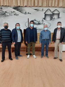 """Συνάντηση βουλευτή ΠΕ Γρεβενών Ανδρέα Πάτση με το νέο Δ.Σ. του συλλόγου Γρεβενιωτών Κοζάνης """"Ο Αιμιλιανός"""""""