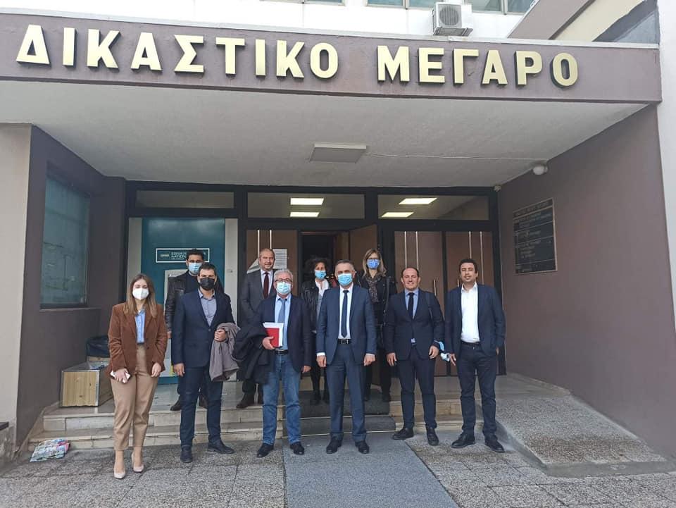 Συνάντηση του Περιφερειάρχη Δυτικής Μακεδονίας Γιώργου Κασαπίδη με τον Δικηγορικό Σύλλογο Κοζάνης.