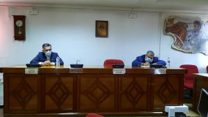 Συνάντηση του Περιφερειάρχη Δυτικής Μακεδονίας Γιώργου Κασαπίδη με τον Δήμαρχο Εορδαίας Παναγιώτη Πλακεντά