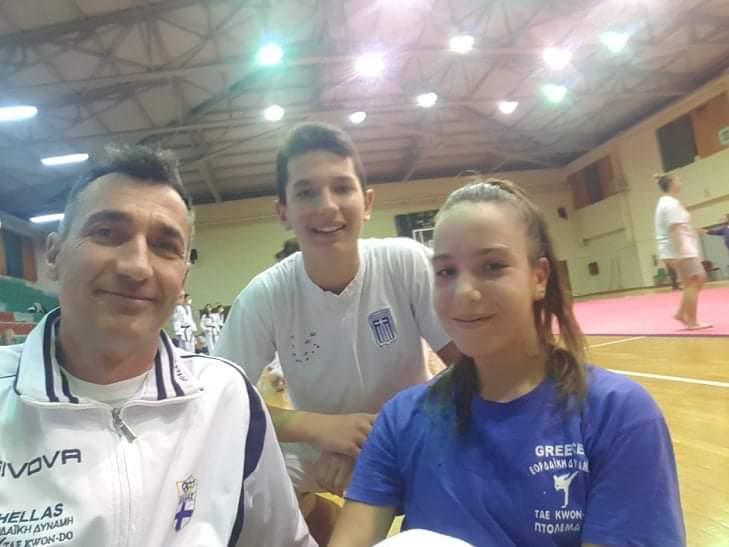 Με δύο αθλητές/τριες η Εορδαϊκή Δύναμη, στα δύο Πανελλήνια Πρωταθλήματα TAEKWONDO!