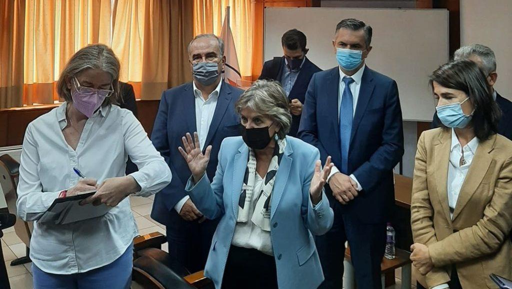 Στην Κοζάνη για την απολιγνιτοποίηση η Ευρωπαία Επίτροπος Ελίζα Φερέιρα