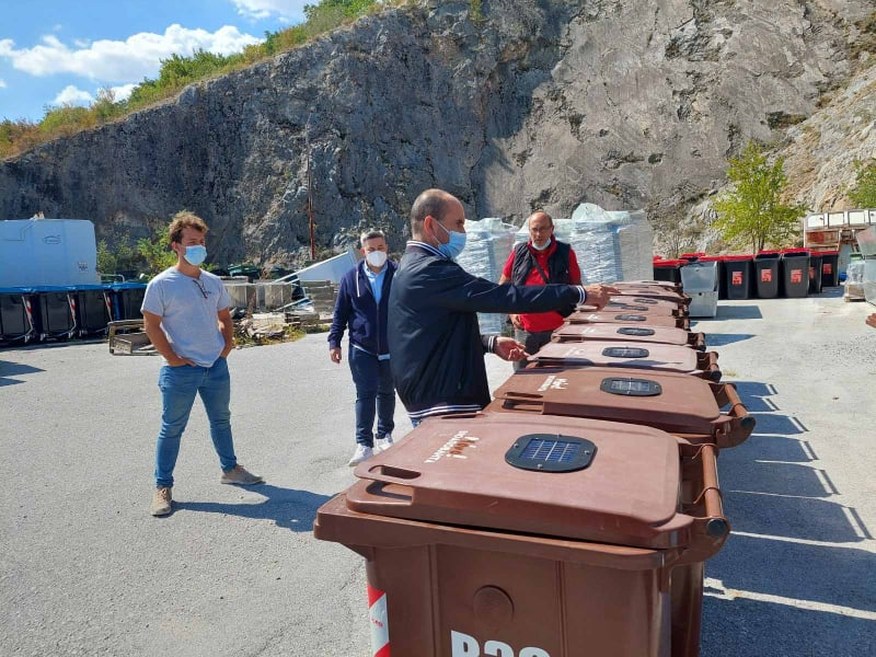 Έξυπνους» κάδους βιοαποβλήτων απέκτησε ο Δήμος Κοζάνης: Συλλέγουν & καταγράφουν δεδομένα για τη θερμοκρασία, τη σύνθεση και την πληρότητα του κάθε κάδου
